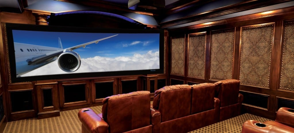 Home cinema room pictures.