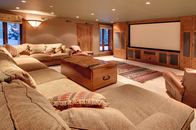Home theater or media room what s the difference your for Meuble home cinema