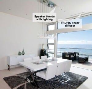 speakers hidden