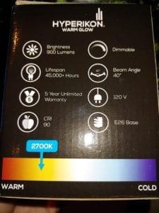 Color Temperature Box